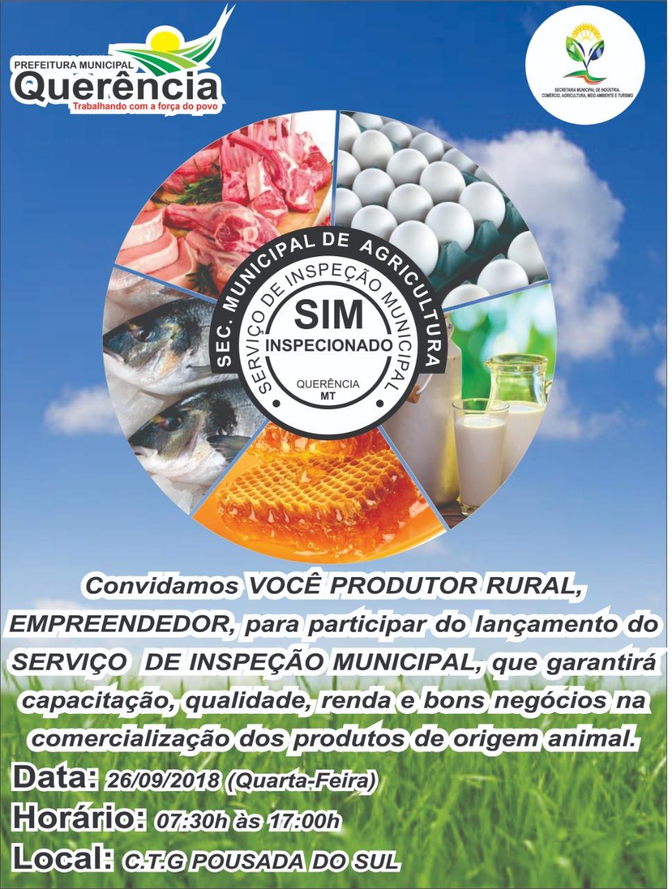5af77f3fb2 AUDIÊNCIA DO SERVIÇO DE INSPEÇÃO MUNICIPAL (SIM)